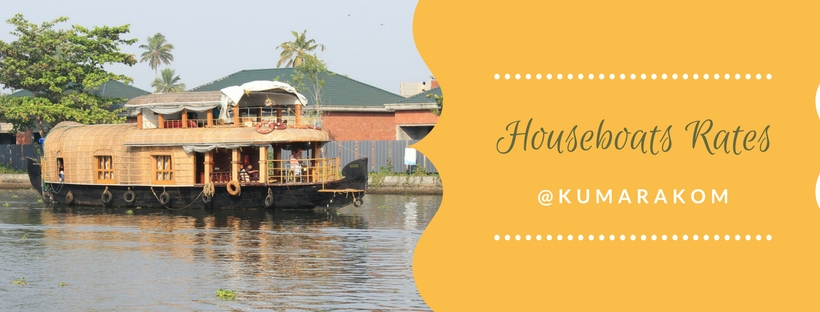 Kumarakom Houseboat Rates for One Day