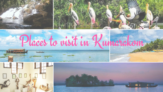 Places to visit in Kumarakom